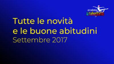 Accademia Arte Bergamo - Nuovo Anno Accademico 2017-2018