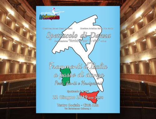 """Spettacolo al Teatro Sociale """"Amiche per la vita""""- 22 giugno 2019"""