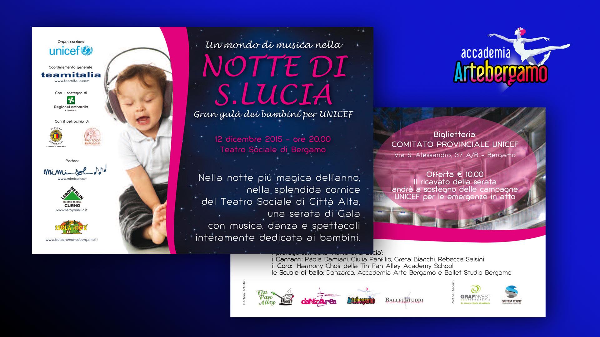 Accademia Arte Bergamo - Santa Lucia 2015