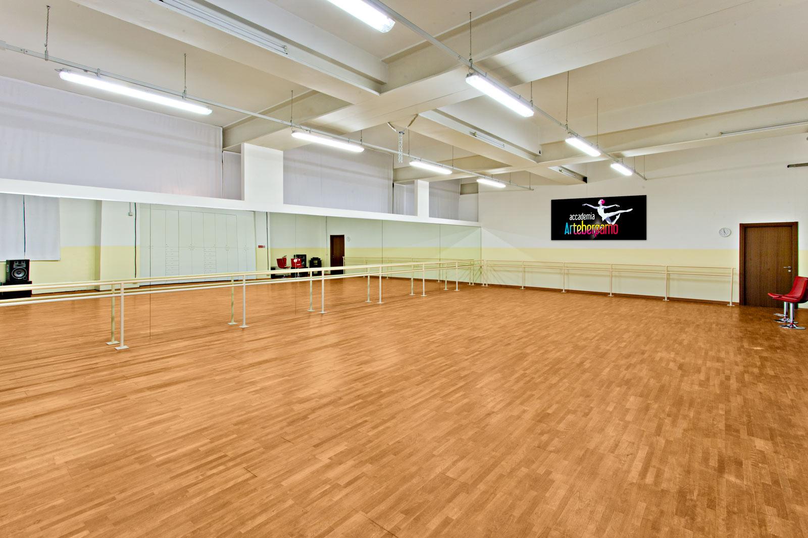Accademia Arte Bergamo - Sale didattiche e sale ballo