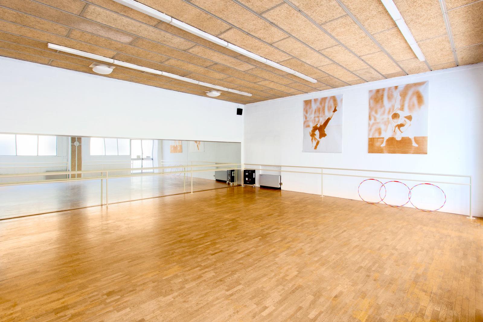 Accademia Arte Bergamo L'accoglienza e le sale prova di danza